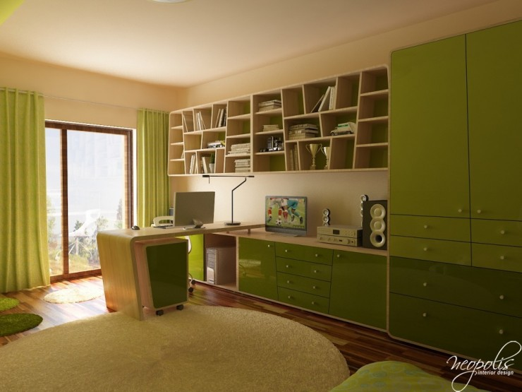 green kids room 57 by neopolis