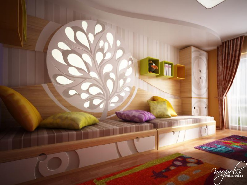 31 well designed kids 39 room ideas decoholic for Designer childrens bedroom ideas