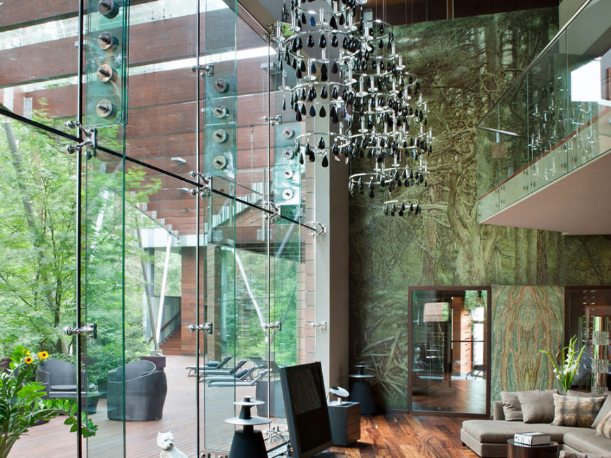 Luxury House in Russia by Olga Freimann