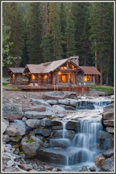 Rustic mountain Cabin 11