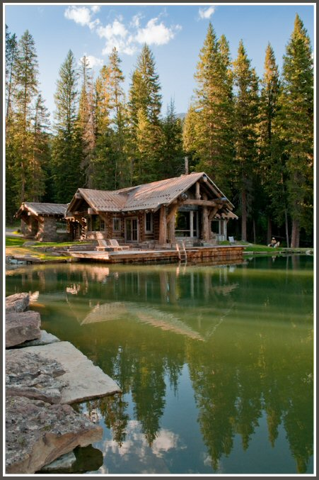 Rustic mountain Cabin 12