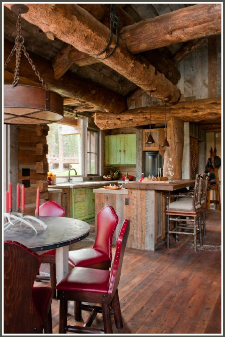Rustic mountain Cabin 4