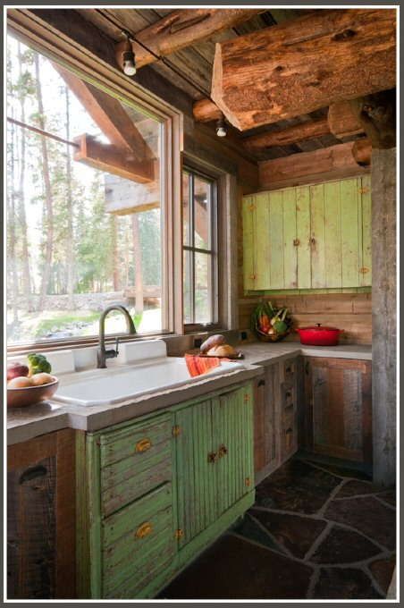 Rustic mountain Cabin 5