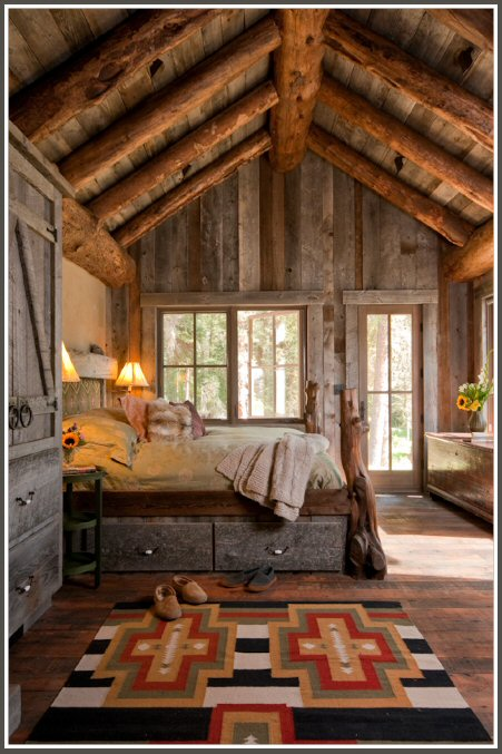 Rustic mountain Cabin 6
