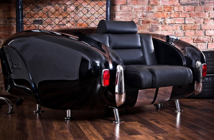 sofa by Real Car Parts 7