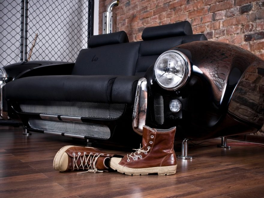 sofa by Real Car Parts