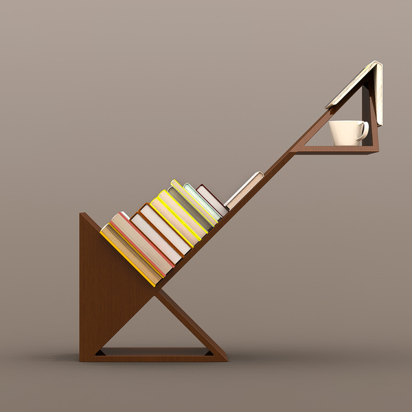 Arrow Bookshelf