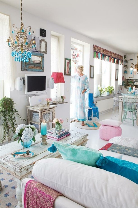 18 boho chic living room decorating ideas decoholic - Boho chic deco ...