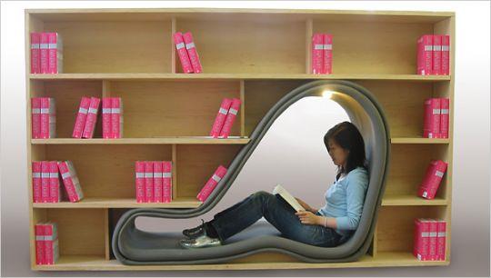 Cave Bookshelf