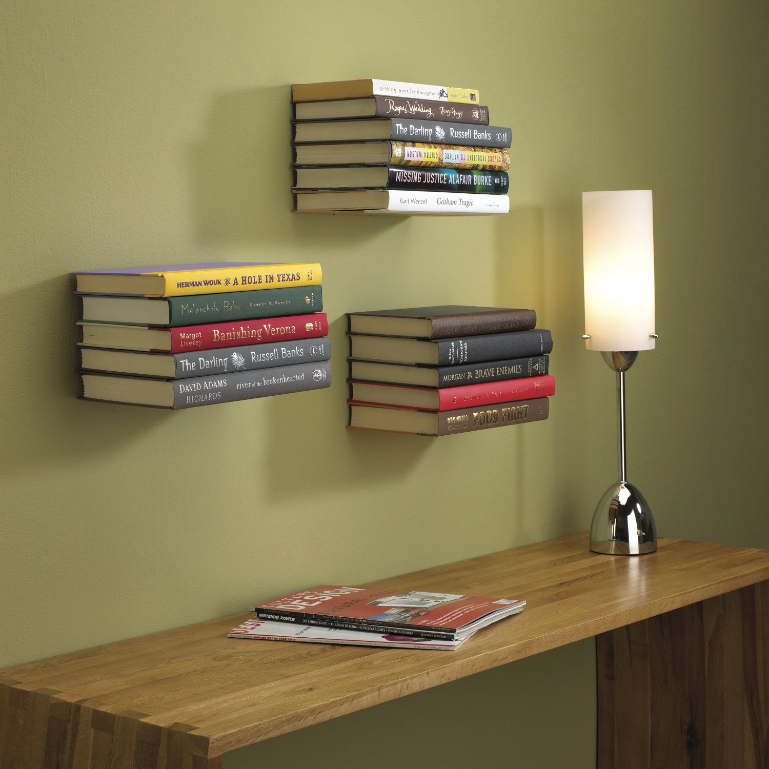 Conceal Wall Book Shelf