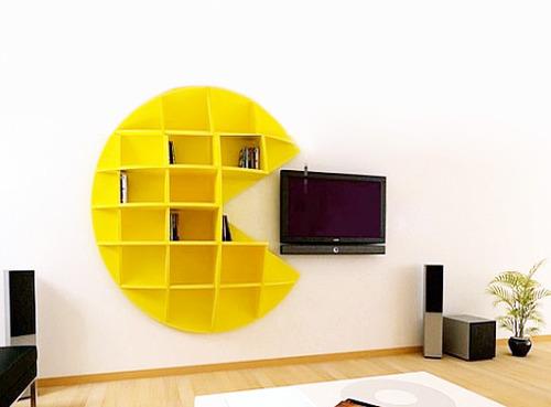Pacman Bookshelf 2