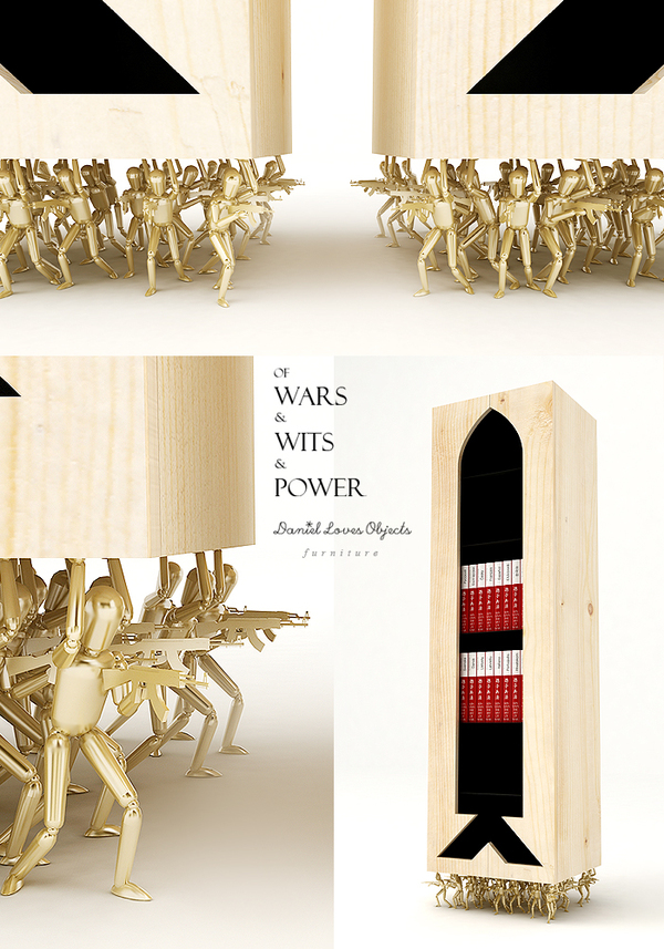OF WARS & WITS & POWER Bookcase