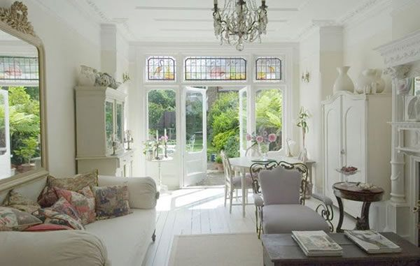 37 dream shabby chic living room designs decoholic for French chic living room