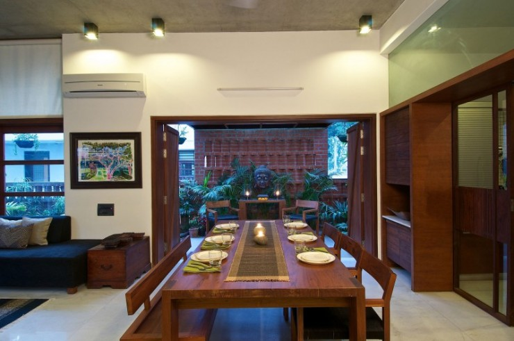 green house 4 interiors by Hiren Patel Architects