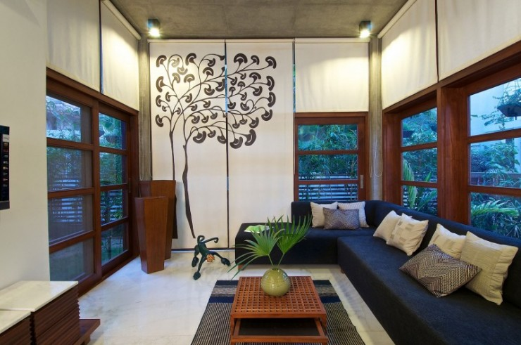 green house 5 interiors by Hiren Patel Architects