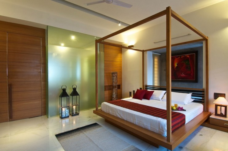 green house 7 interiors by Hiren Patel Architects