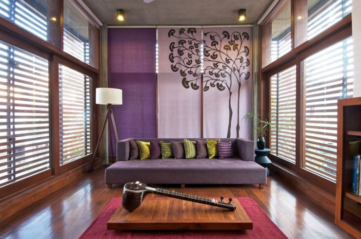 green house interiors by Hiren Patel Architects