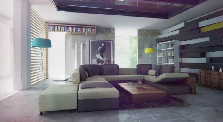 fabulous grey tones living room design ideas