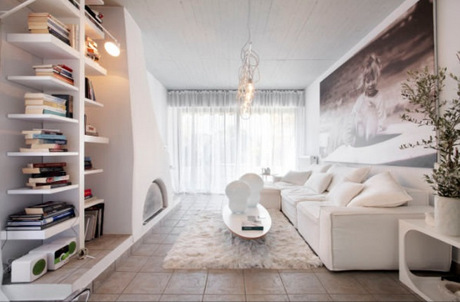 white interior design ideas by stefanos tsiros