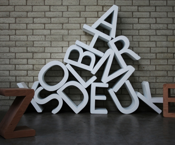 Letters Bookcase