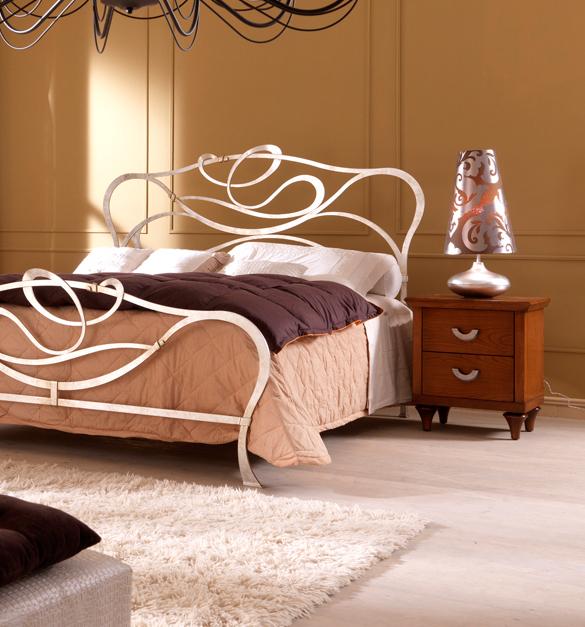 modern luxury wrought iron bedroom design