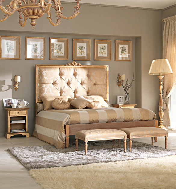 Luxury bedroom designs by juliettes interiors decoholic - Gold bedroom ideas ...