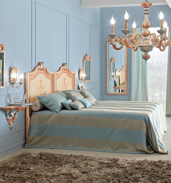 Paris Collection French painted bed