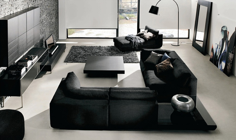 Minimalism 34 great living room designs decoholic for Nice living room design