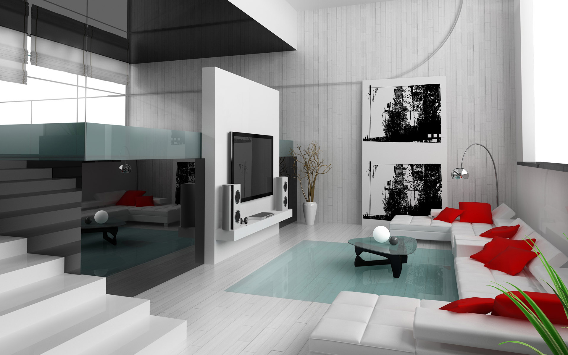 Minimalism 34 great living room designs decoholic for Interior design minimalist living room