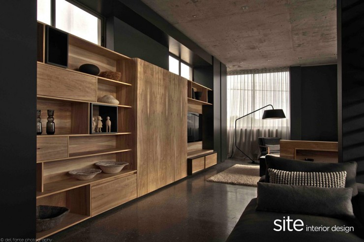 Dramatic 6 Modern House by Site Interior Design