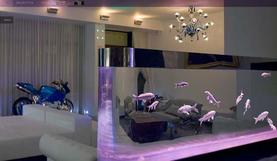 25 Rooms With Stunning Aquariums - Decoholic