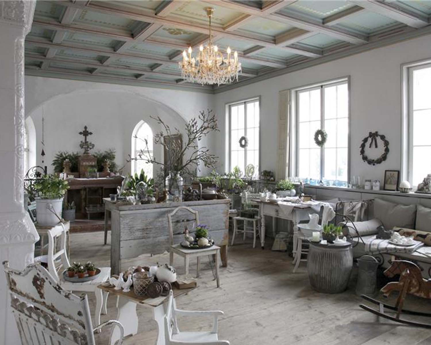 Shabby Chic Living Room 26 Ideas