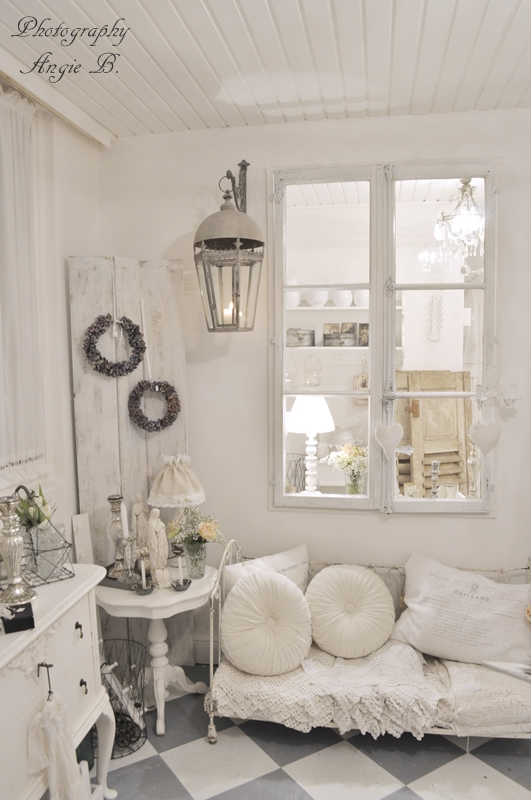 Shabby Chic Vintage Living Room 28 Ideas