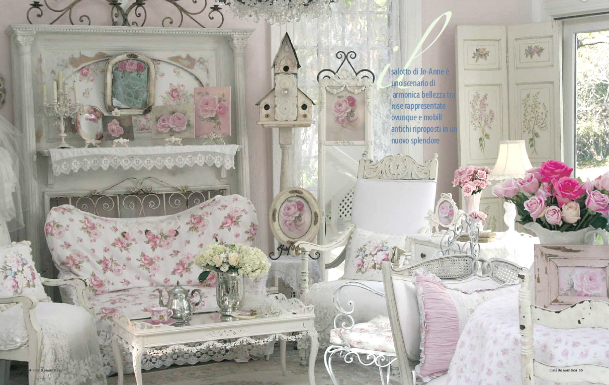37 dream shabby chic living room designs decoholic for Vintage chic living room ideas