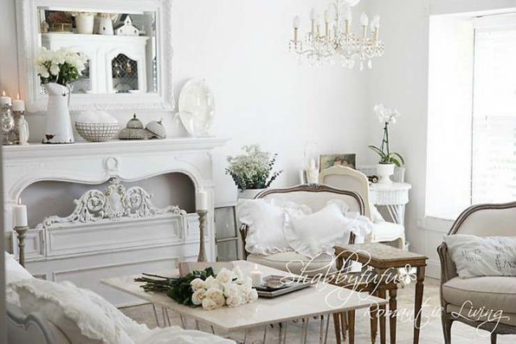 vintage chic living room ideas 37 shabby chic living room designs decoholic 22166