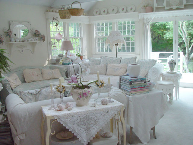 Estilo Shabby Chic Decoracion Interiores ~ shabby chic living room 32 ideas