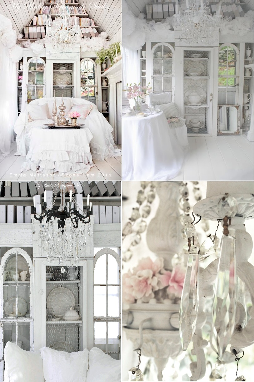 37 dream shabby chic living room designs decoholic for Photo shabby chic