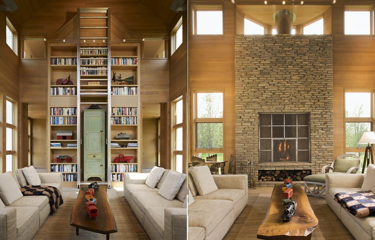 Modern Country House Interior Design By Tigerman Mccurry