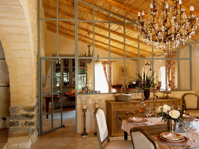 French Country Stone House Interiors 2