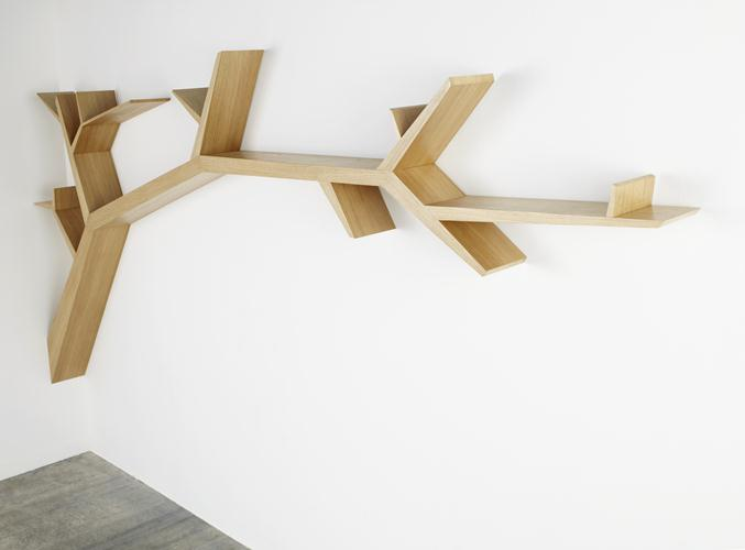 Tree Branch bookcase by Olivier Dollé 2