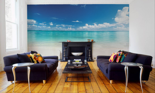 Wall Murals For Living Room 10 living room designs with unexpected wall murals - decoholic