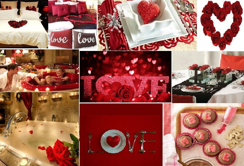 Hot valentine 39 s day decorations decoholic for Valentine s day room decor