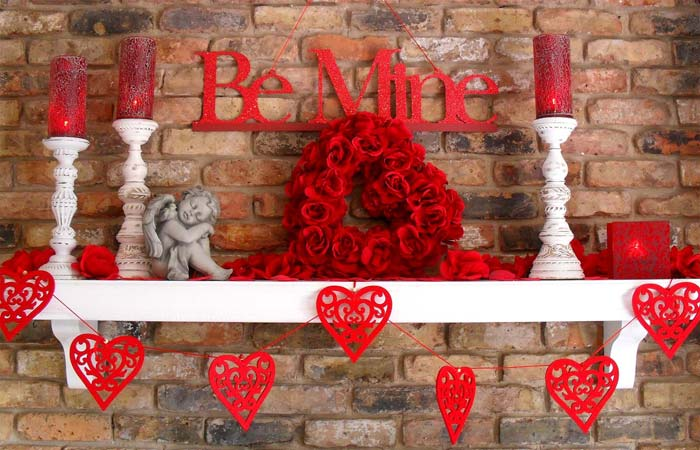 Valentinen's Day home romantic Decorations