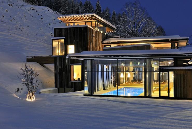 Wiesergut 28 design hotel in Austrian Alpsby Gogl Architekten