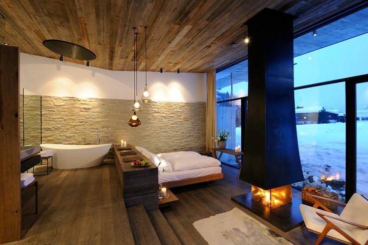 Wiesergut design hotel in Austrian Alpsby Gogl Architekten