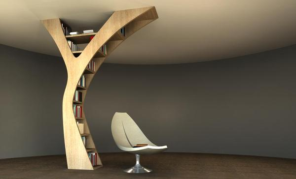 36 Creative Bookshelves With Unexpected Design - Decoholic