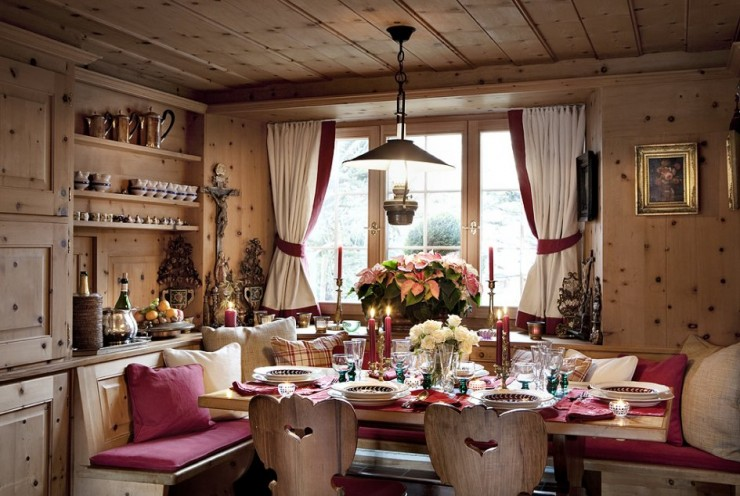 Chalet Maldeghem Traditional interiors