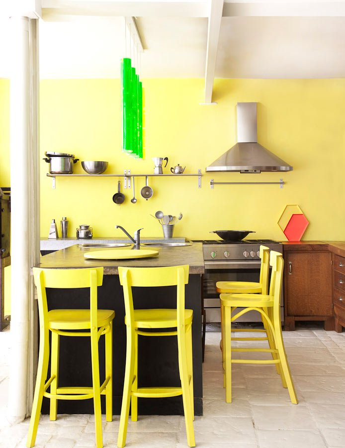 Florence Jaffrain's Colorful House interiors 4