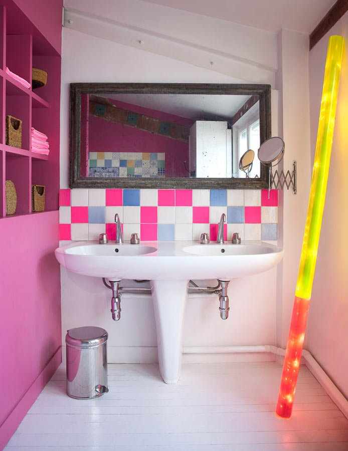 Florence Jaffrain's Colorful House interiors 6