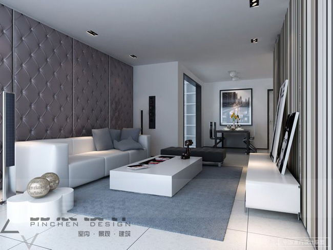 69 fabulous gray living room designs to inspire you for Living room gray walls